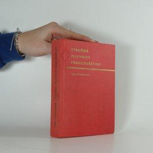 náhled knihy - Stručná mluvnice francouzštiny