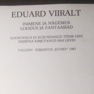 antikvární kniha Eduard Viiralt, 1983