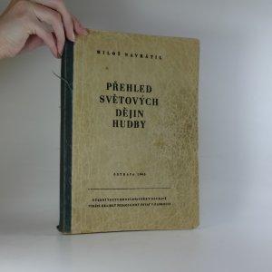 náhled knihy - Přehled světových dějin hudby