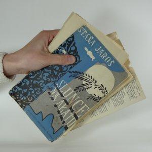 antikvární kniha Slunce na akátu, 1947