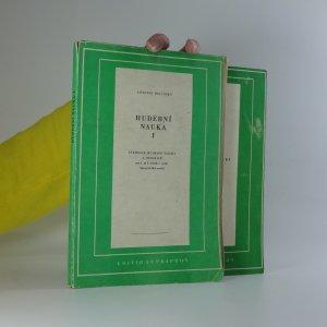 náhled knihy - Hudební nauka I-II (2 svazky)