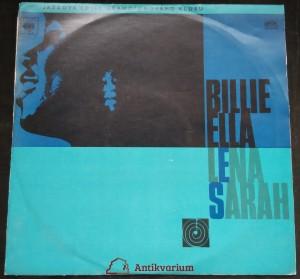 náhled knihy - Billie, Ella, Lena, Sarah