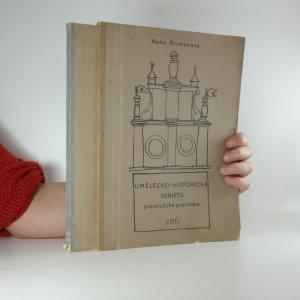 náhled knihy - Umělecko-historická skripta pro pražské průvodce (2 svazky)