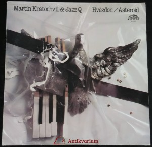 náhled knihy - Kratochvíl, Martin; Jazz Q: Hvězdoň / Asteroid