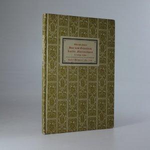 náhled knihy - Aus dem Gebetbuch Kaiser Maximilians