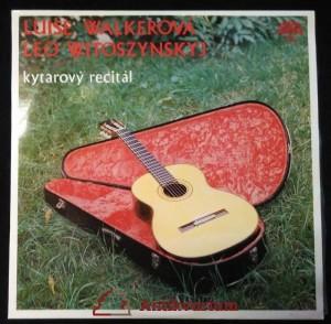 náhled knihy - Walkerová, Luise; Witoszynskyj, Leo: kytarový recitál