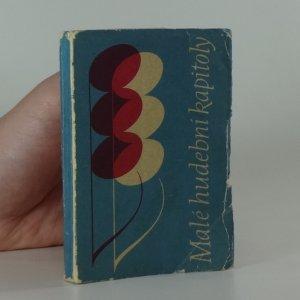 náhled knihy - Malé hudební kapitoly