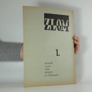 náhled knihy - Zlom. číslo 1. ročník VI./I.