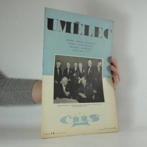 náhled knihy - Umělec. číslo 7. ročník I.