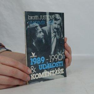 náhled knihy - Události a komentáře. 1989-1990