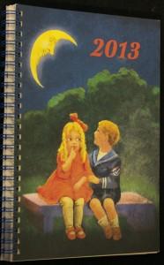 náhled knihy - Lunární kalendář Krásné paní a publikace Rok 2013