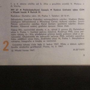 antikvární kniha MY 67. Číslo 2. Ročník 4., 1967
