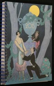 náhled knihy - Lunární kalendář Krásné paní a publikace Rok 2015