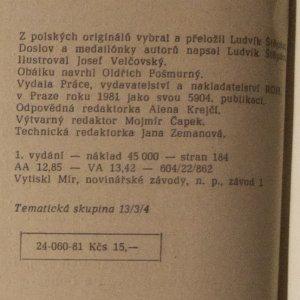 antikvární kniha Touha po modrém nebi : Výbor z polské sci-fi, 1981