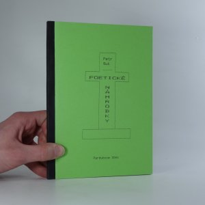 náhled knihy - Poetické náhrobky