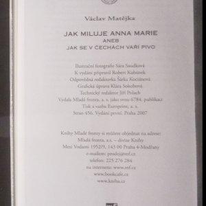 antikvární kniha Jak miluje Anna Marie, aneb, Jak se v Čechách vaří pivo, 2007