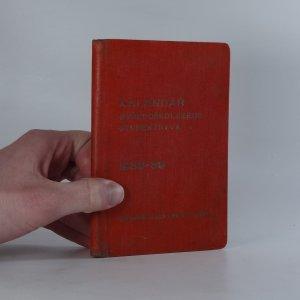náhled knihy - Kalendář středoškolského studenstva 1938-39