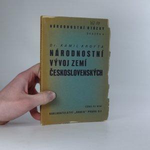 náhled knihy - Národnostní vývoj zemí československých