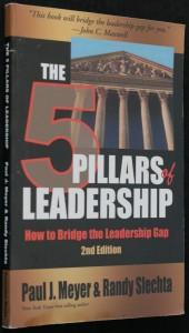 náhled knihy - The 5 pillars of leadership, how to Bridge the Leadership Gap