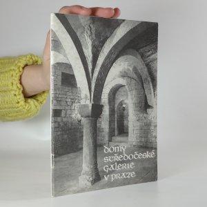 náhled knihy - Domy Středočeské galerie v Praze
