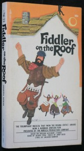 náhled knihy - Fiddler on the roof