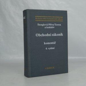 náhled knihy - Obchodní zákoník : komentář