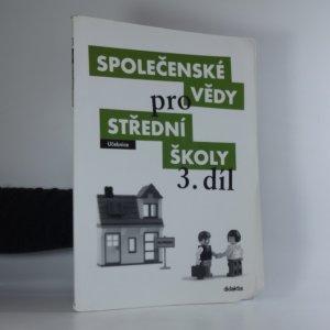 náhled knihy - Společenské vědy pro střední školy. 3. díl
