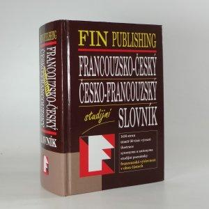náhled knihy - Francouzsko-český, česko-francouzský studijní slovník