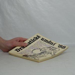 antikvární kniha Dramatické umění '88 svazky 1-4 (4 sv.), 1988