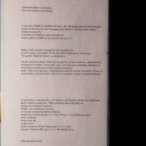 antikvární kniha Elegantní s šátkem a šálou : 21 technik vázání, 2003