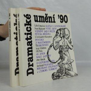 náhled knihy - Dramatické umění '90, 1 - 2 díl (2 svazky)