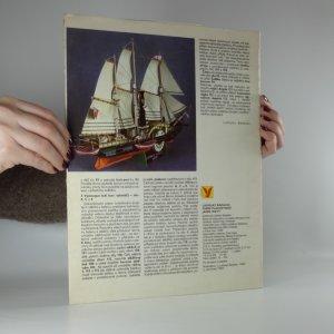 antikvární kniha Plastické vystřihovánky. Parní plachetnice James Watt, 1989