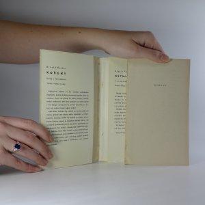 antikvární kniha Kořeny, 1961