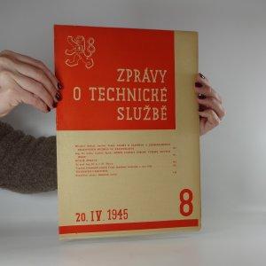 náhled knihy - Zprávy o technické službě. Číslo 8 (20.4.1945)