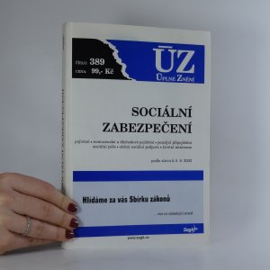 náhled knihy - Sociální zabezpečení. 2003