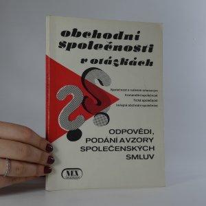 náhled knihy - Obchodní společnosti v otázkách