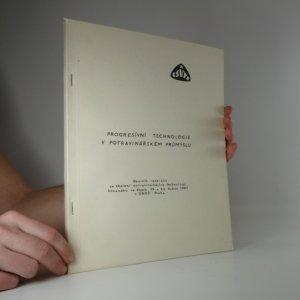náhled knihy - Progresívní technologie v potravinářském průmyslu