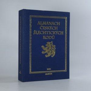 náhled knihy - Almanach českých šlechtických rodů 2001