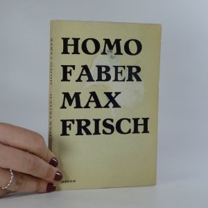 náhled knihy - Homo Faber