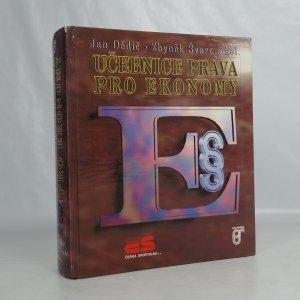 náhled knihy - Učebnice práva pro ekonomy