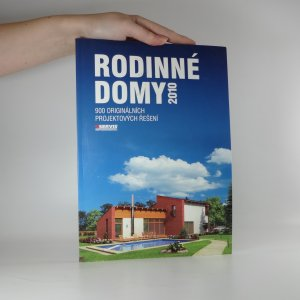 náhled knihy - Rodinné domy 2010. 900 originálních projektových řešení.