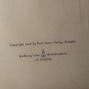 antikvární kniha Artisten, 1928
