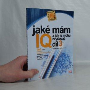 náhled knihy - Jaké mám IQ? A jak je mohu zvyšovat?