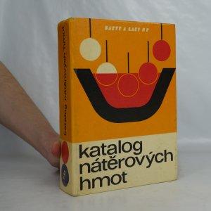 náhled knihy - Katalog nátěrových hmot