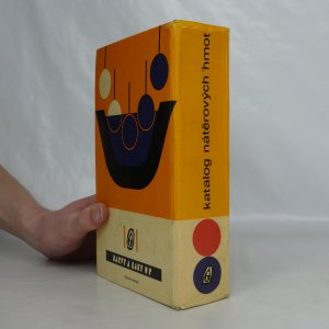 antikvární kniha Katalog nátěrových hmot, 1974