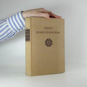 náhled knihy - Dějiny starověkého Říma