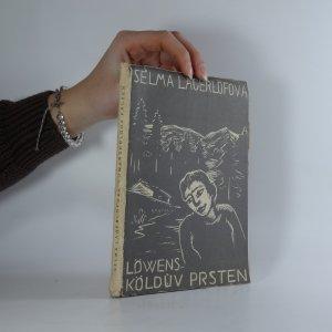 náhled knihy - Löwensköldův prsten