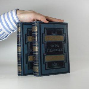 náhled knihy - Rodina Połanieckých (3 díly ve dvou svazcích)