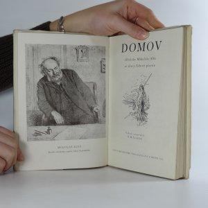 antikvární kniha Domov. obrázky Mikoláše Alše se slovy lidové poesie, 1952