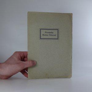 náhled knihy - Poznámky Boženy Němcové